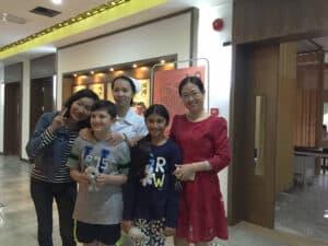 paciente en China para el tratamiento de células madre para el autismo