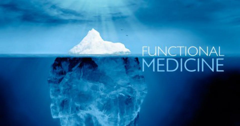 Medicina funcional usando analogía iceberg